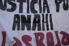 ¡Justicia por Anahí! Congreso Bs As