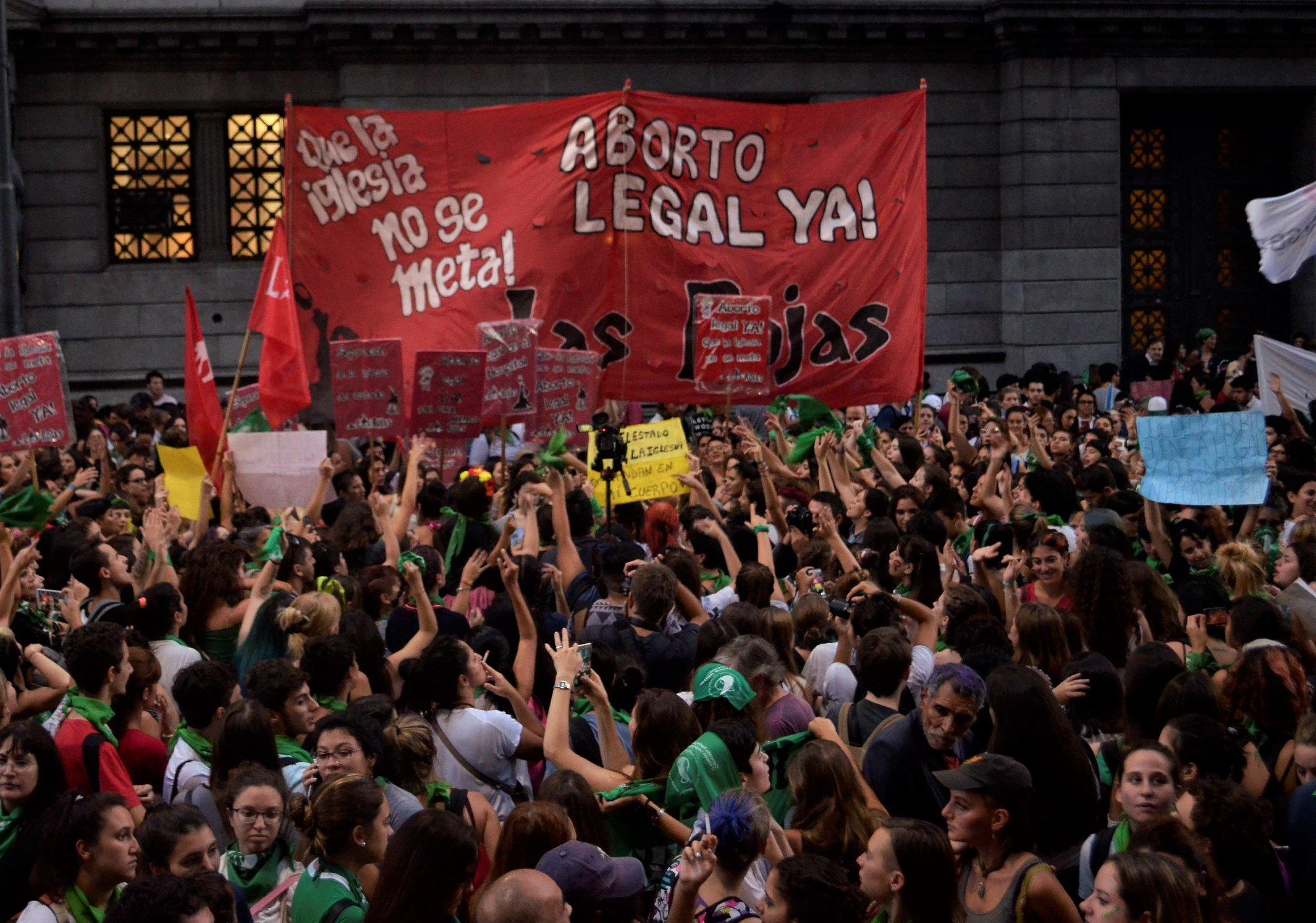 aborto legal debate en el congreso